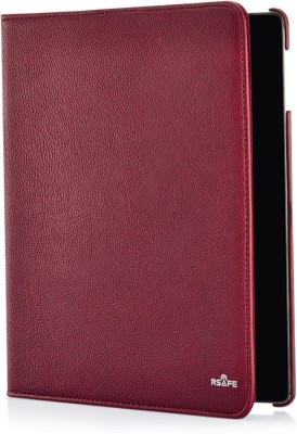 RSafe Flip Cover for Samsung Galaxy Tab 3 10.1 P5220/P5200(Maroon, Anti-radiation, Artificial Leather)
