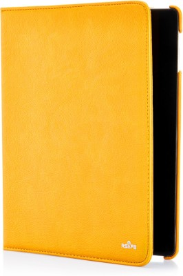 "RSafe Flip Cover for Samsung Galaxy Note 10.1"" inch N8000(Yellow, Anti-radiation, Artificial Leather)"