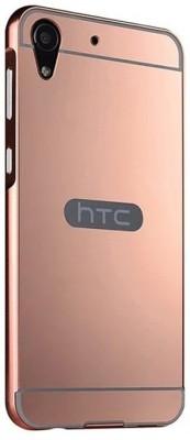 GadgetM Back Cover for HTC Desire 728(Rose Gold, Metal, Plastic)