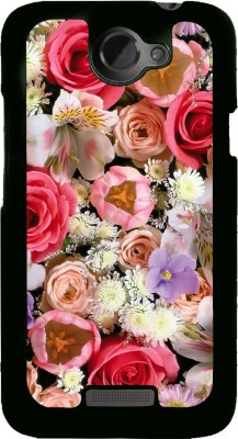 Snapdilla Back Cover for HTC One X, HTC One X+, HTC One X Plus, HTC One XT(Colourful Beautiful Pretty Pink Roses For Girls Superb Phone Case, Plastic)