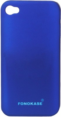 Fonokase Back Cover for iPhone 4S(Blue)