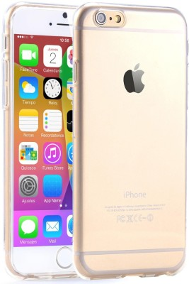 S Case Back Cover for Apple iPhone 6(Transparent, Rubber)