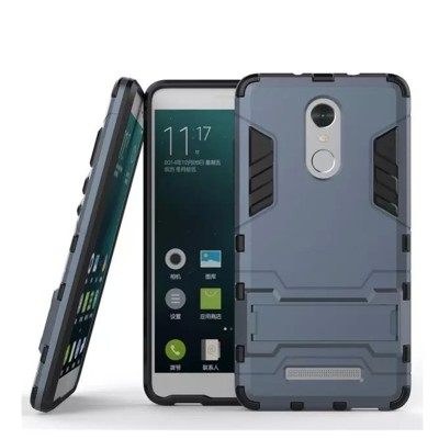 Mobile Mart Back Cover for Mi Redmi Note 3 Grey Mobile Mart Plain Cases   Covers