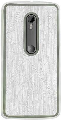 Casotec Back Cover for Motorola Moto G (3rd Generation)(White, Silicon) Flipkart