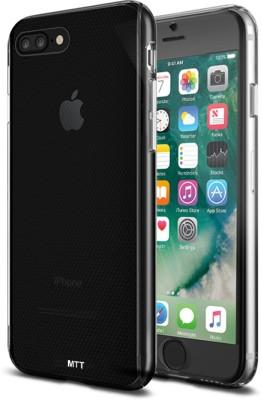 MTT Back Cover for Apple iPhone 7 Plus, Apple iPhone 8 Plus(Transparent)