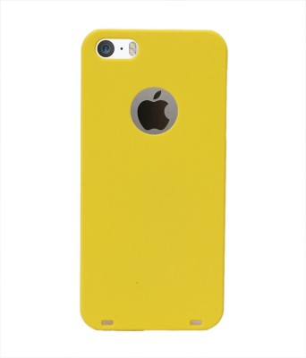Coverage Back Cover for Apple iPhone 5s Yellow