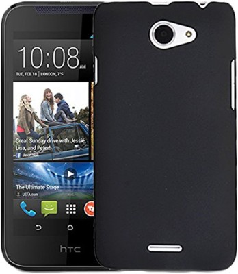 Spicesun Back Cover for HTC Desire 516 Dual Sim(Black)