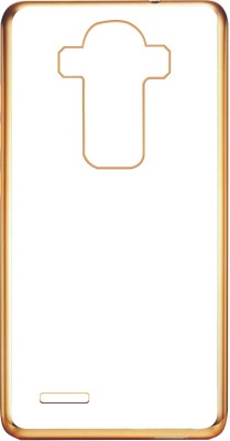 Case Creation Back Cover for LG G4 Stylus (LGH630D)(Gold Color, Silicon)