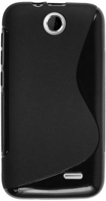 Smartchoice Back Cover for HTC Explorer (Pico) A310e(Black)
