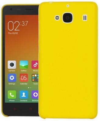 GadgetM Back Cover for Mi Redmi 2 Yellow