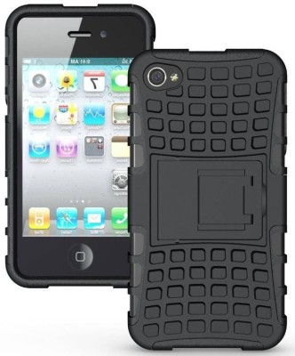 S Design Back Cover for Apple iPhone 4s Black