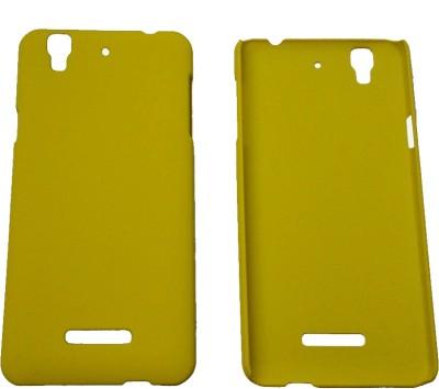 AW Back Cover for Micromax Yu Yureka (Yellow)