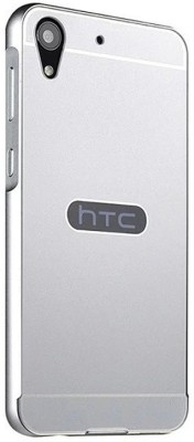 GadgetM Back Cover for HTC Desire 728(Silver, Metal, Plastic)