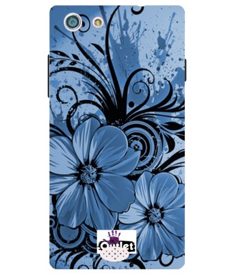 HI5OUTLET Back Cover for OPPO Neo 5(STEEL BLUE) at flipkart