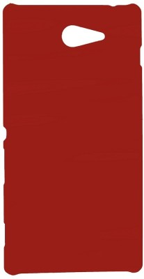 Spicesun Back Cover for Sony Xperia M2 D2302 Red