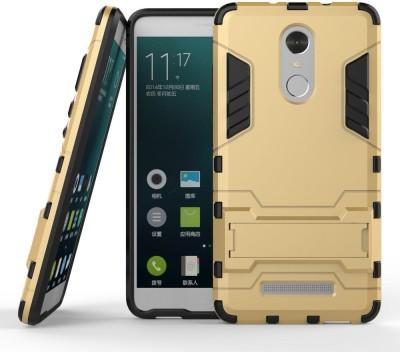 Mobile Mart Back Cover for Mi Redmi Note 3(Gold, Plastic)