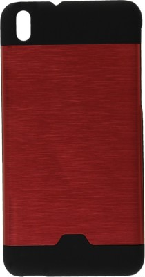 GadgetM Back Cover for HTC Desire 816G(Red, Metal, Rubber)