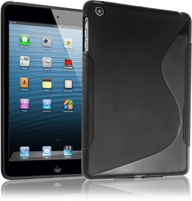 Helix Back Cover for Apple iPad 3 Black, Silicon Helix Plain Cases   Covers