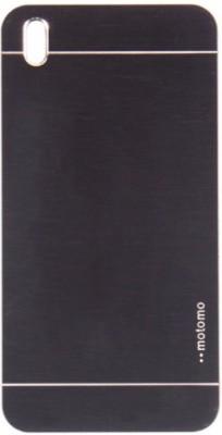 Motomo Back Cover for HTC Desire 816(Metalic Black, Metal, Plastic) Flipkart