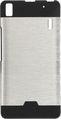 GadgetM Back Cover for Lenovo A7000(Silver, Metal, Rubber)