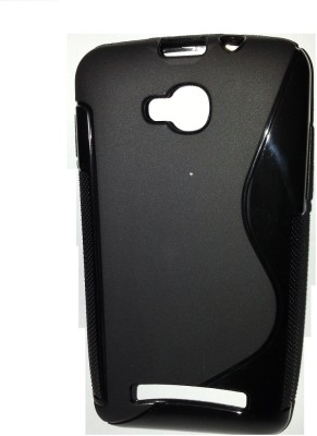 Wellpoint Back Cover for Micromax Bolt Q324 Black