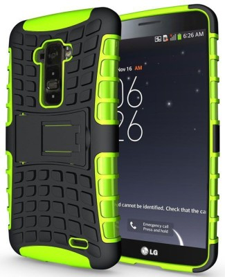 Heartly Back Cover for LG G FLEX D958(Green)