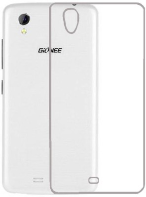 S Case Back Cover for Gionee Pioneer P5W(Transparent, Rubber)