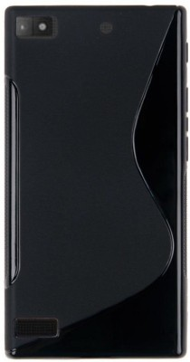 Wellpoint Back Cover for Blackberry Z3(Black, Rubber)