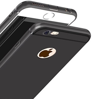 Sajni Creations Back Cover for Apple iPhone 6 Black, Silicon Sajni Creations Plain Cases   Covers