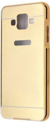Kosher Traders Bumper Case for SAMSUNG Galaxy E7(Gold, Metal)