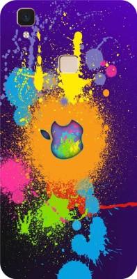 Bastex Back Cover for VIVO V3 Multicolor