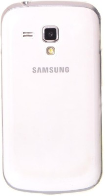 OMG Back Cover for Samsung Galaxy S Duos S7562,Samsung Galaxy S Duos 2 S7582(Transparent, Rubber)
