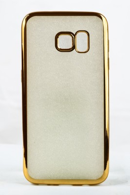 Mystry Box Back Cover for Samsung Galaxy S7 Edge Gold, Silicon