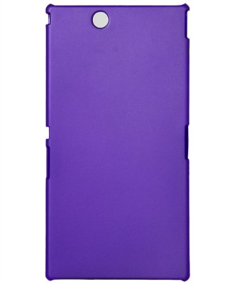GadgetM Back Cover for Sony Xperia Z Ultra(Purple, Plastic)