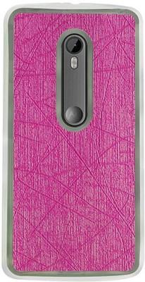 Casotec Back Cover for Motorola Moto G (3rd Generation)(Pink, Flexible Case) Flipkart
