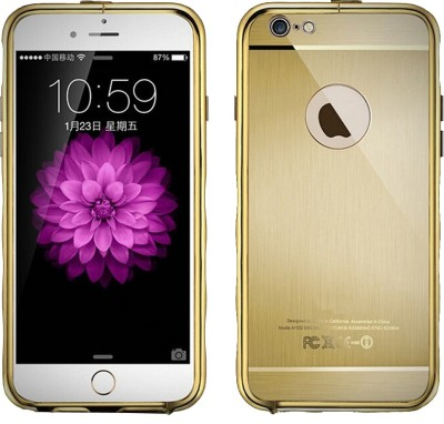 Kapa Back Cover for Apple iPhone 6, Apple iPhone 6S(Gold, Plastic, Metal) Flipkart