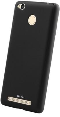 SPL Back Cover for Mi Redmi 3S Prime Black