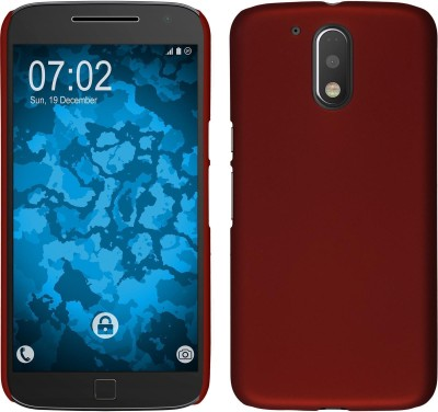 Case Creation Back Cover for Motorola Moto G (4th Generation) Plus, Moto G 4 +, Moto G Plus, 4th Gen, Moto G4+ (2016), MotoG4Plus(Wine Marron Red, Plastic)