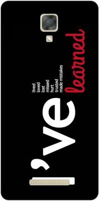 FashionCraft Back Cover for Panasonic Eluga I2(Multicolor, Flexible Case)