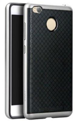 Micomy Back Cover for Xiaomi Redmi 3 Pro, Mi Redmi 3S(Silver, Plastic)