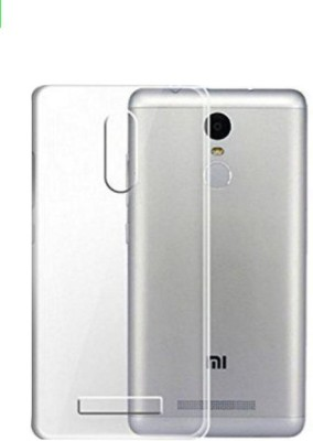COVERNEW Back Cover for Mi Redmi Note 2 Pro Transparent COVERNEW Plain Cases   Covers