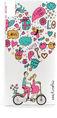 Mystry Box Back Cover for Gionee Elife S5.5 Multicolor, Silicon