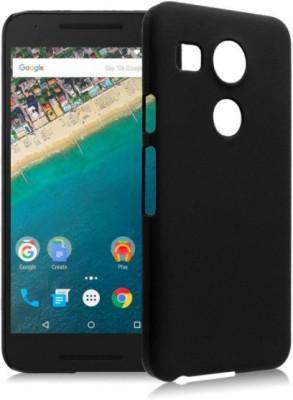 Case Creation Back Cover for LG Google Nexus 5X H791, Nexus5X(Dark Pitch Black, Plastic) Flipkart