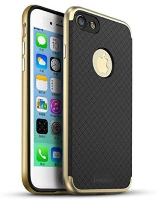 IPAKY Back Cover for Apple iPhone 7, Apple iPhone 8 Gold IPAKY Plain Cases   Covers