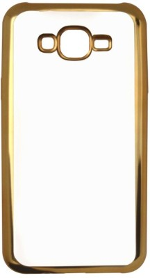 Coverage Back Cover for Samsung Galaxy Grand Prime Gold, Transparent