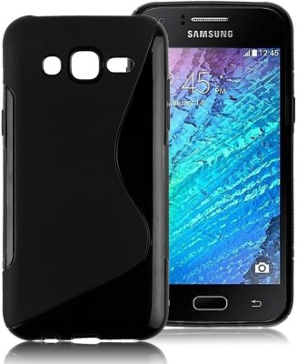 S-Line Back Cover for Samsung Galaxy J5 - 6 (New 2016 Edition)(Black, Silicon)