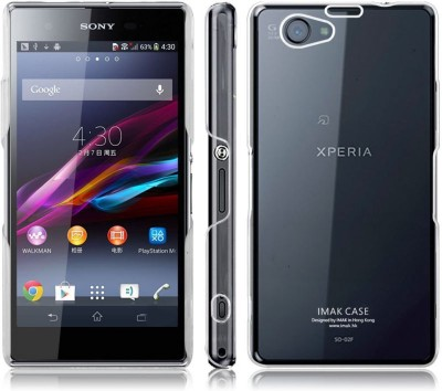 Heartly Back Cover for Sony Xperia Z1 Compact M51W(Transparent, Plastic)