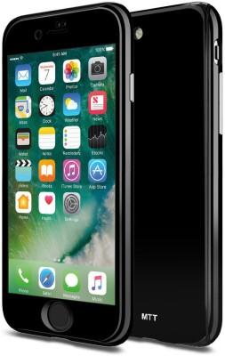 MTT Back Cover for Apple iPhone 7 Plus, Apple iPhone 8 Plus(Black)
