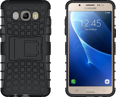Armor Back Cover for Samsung Galaxy J5   6  New 2016 Edition  Black, Shock Proof