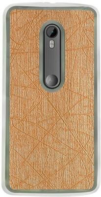 Casotec Back Cover for Motorola Moto G (3rd Generation)(Gold, Flexible Case) Flipkart